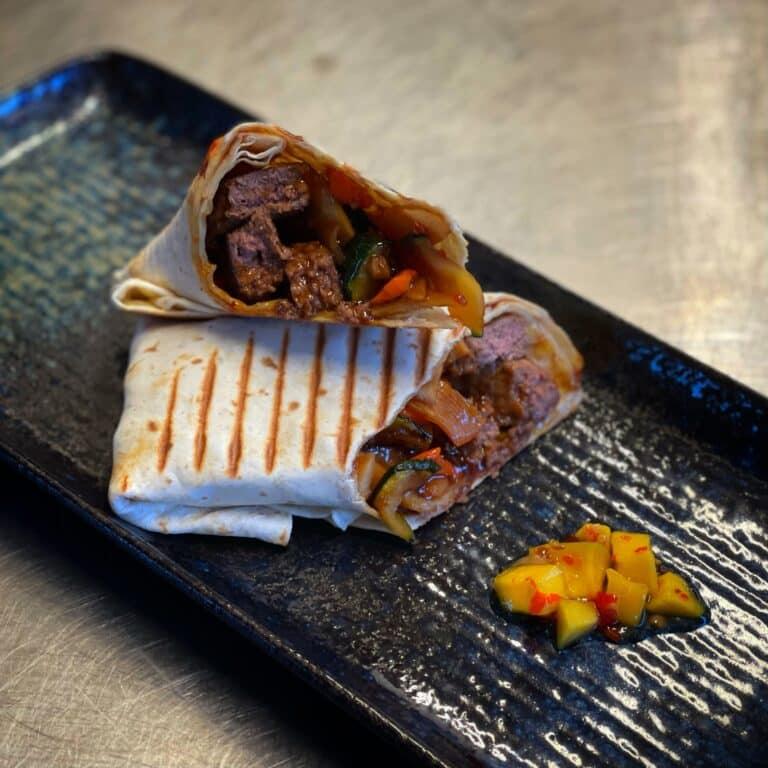 Terijaki Beef Wrap